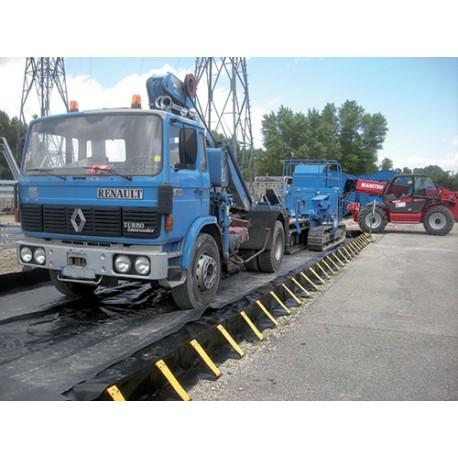 Bacs de rétention pour camions et engins roulants
