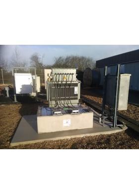 Bac de rétention anti-feu béton BAFB pour transformateur électrique
