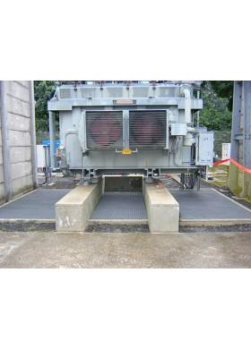 Système d'extinction (couverture anti-feu) pour fosse sous transformateur électrique MX