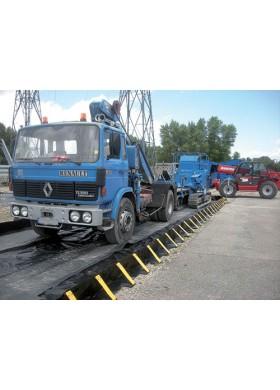 Bacs de rétention pour stockage temporaire de camions et engins roulants