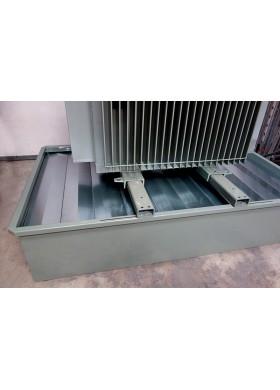 Bac de rétention anti-feu acier pour transformateur électrique CRAF