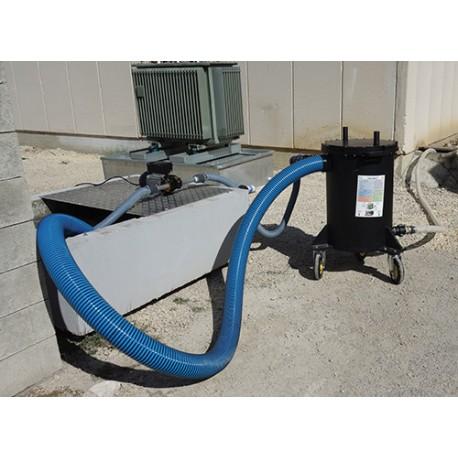 Filtres à eau capteur d'hydrocarbures rechargeables pour transformateur électrique