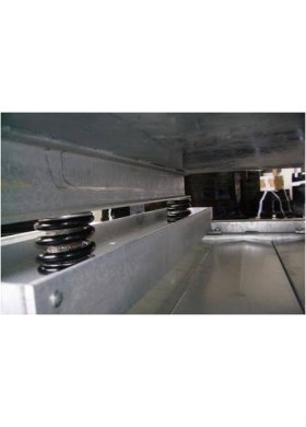 Silent blocks système anti-vibration pour transformateur électrique