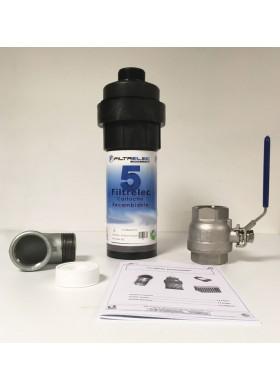 Filtre à eau rechargeable anti hydrocarbures pour transformateur électrique
