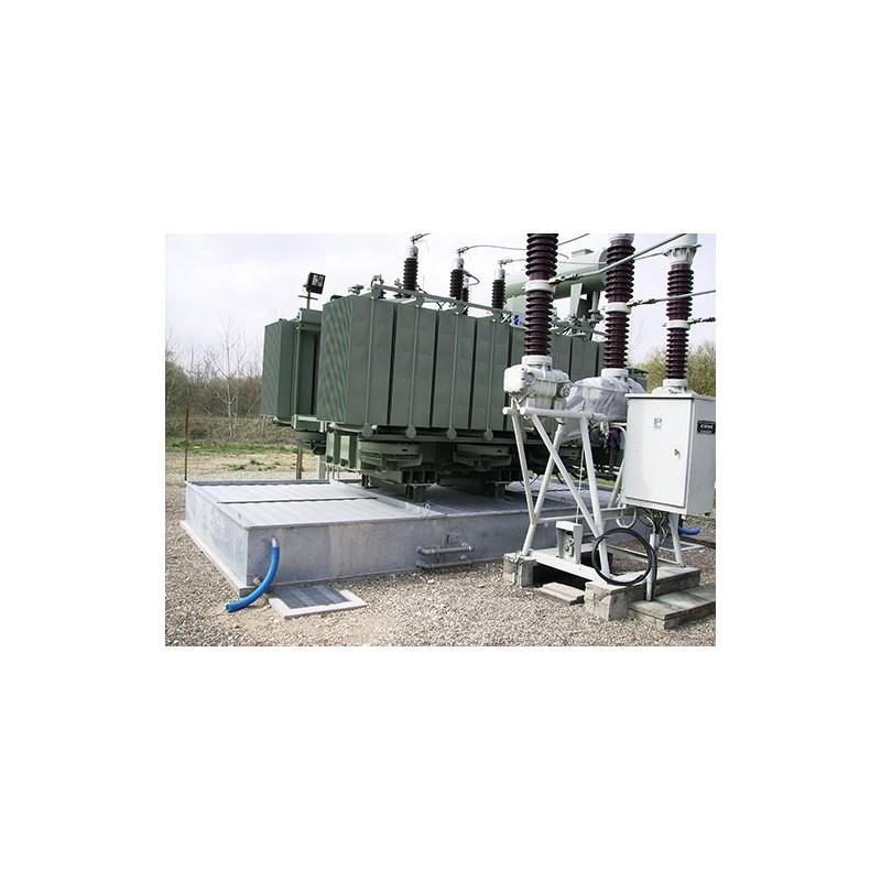 Bac de r tention anti feu modulaire pour transformateur for Systeme anti aboiement exterieur pour chenil