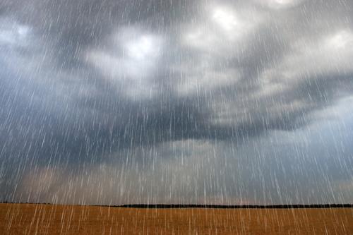 Eau pluviale sur transformateur électrique