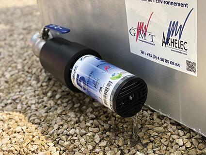 Filtre a eau anti-hydrocarbures FILTRELEC GMT