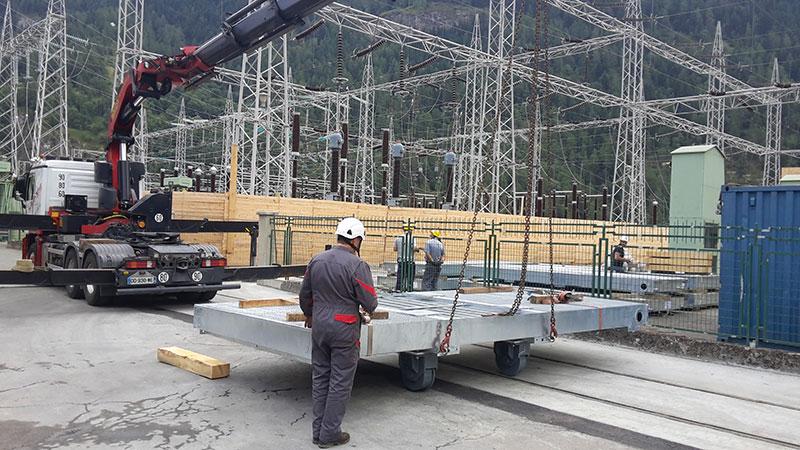 Installation sur site