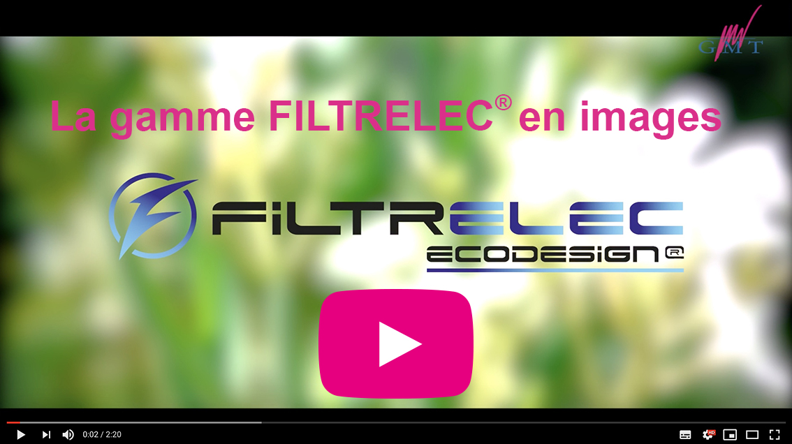 Video de presentation de la gamme de filtres a eau anti hydrocarbures FILTRELEC